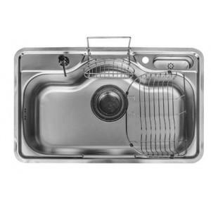 Кухонная мойка из нержавейки ASIL AS 111