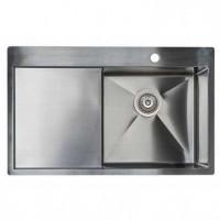 Кухонная мойка из нержавейки ASIL AS 3071-L R-12