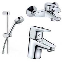 Смеситель Kludi D-VISE 378430590 Набор в ванную