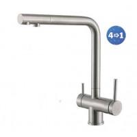 Кухонный смеситель Fabiano FKM 31.40 S/Steel