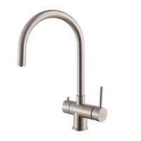 Кухонный смеситель Fabiano FKM 31.5 S/Steel INOX