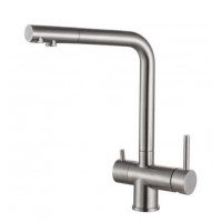 Кухонный смеситель Fabiano FKM 31.7 S/Steel INOX