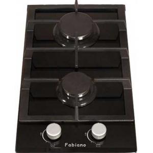Варочная поверхность Fabiano FHG 16-2 VGH Black Glass