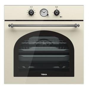 """Духовой шкаф TEKA HRB 6300 VNS (WISH, Rustica) ваниль, ручки """"затемненное серебро"""""""