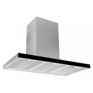 Вытяжка кухонная Teka DLH 786 T (40487181) нержавеющая сталь /черное стекло