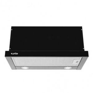 Кухонная вытяжка Ventolux GARDA 60 BK (1000) LED