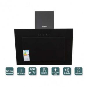 Кухонная вытяжка Ventolux  TREVI 60 (BK) 700 TC